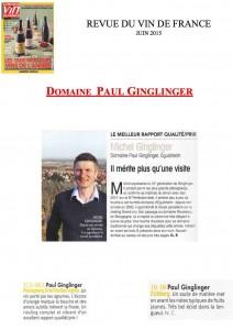 publication ginglinger 2