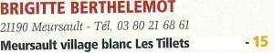 Berthelemot - Bourgogne d'aujourd'hui n128 mars-avril2016