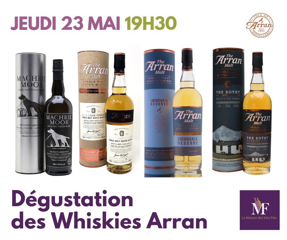 Whisky arran 23 mai 2019