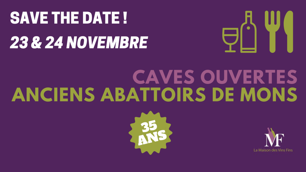 save the date caves ouvertes